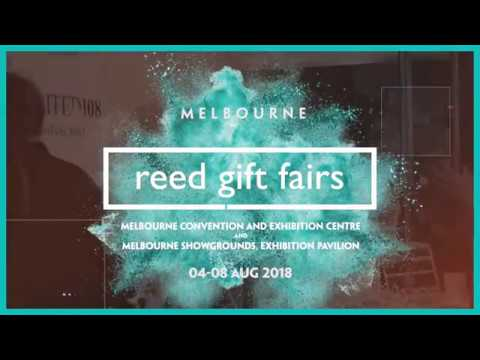 Reed Gift Fairs Melbourne August 2018 At The MCEC
