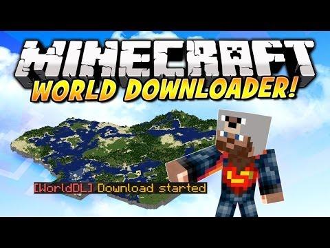 minecraft world download mod