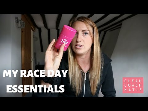 RACE DAY ESSENTIALS - MY 7 TOP PRODUCTS