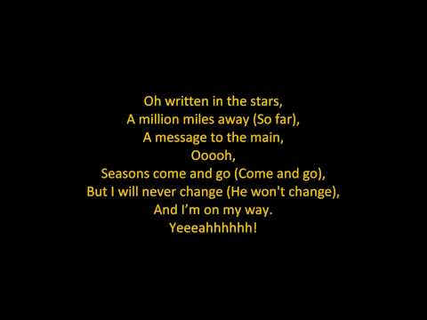 Tinie Tempah – Written In The Stars (feat. Eric Turner) (ON SCREEN LYRICS)