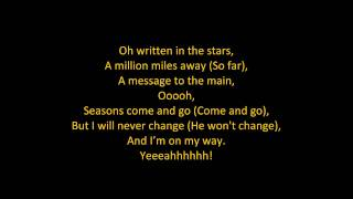 Скачать Tinie Tempah Written In The Stars Feat Eric Turner ON SCREEN LYRICS