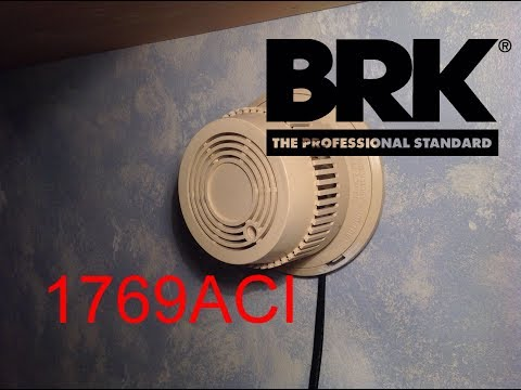 Vintage BRK 1769ACI Smoke Detector