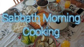 COOKING ALL SABBATH MORNING | Morning Devotion | Grandma's Messages | Short Recipes