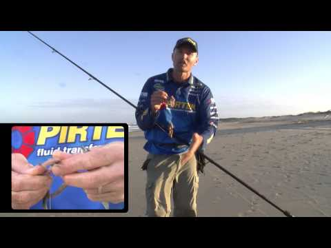 Fishing For Jewfish On The Beach - Reel Action TV