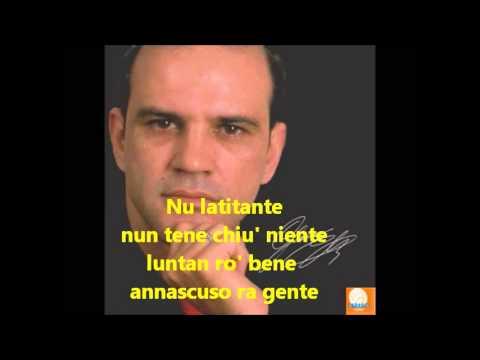 GIANNI CELESTE Nu latitante karaoke)