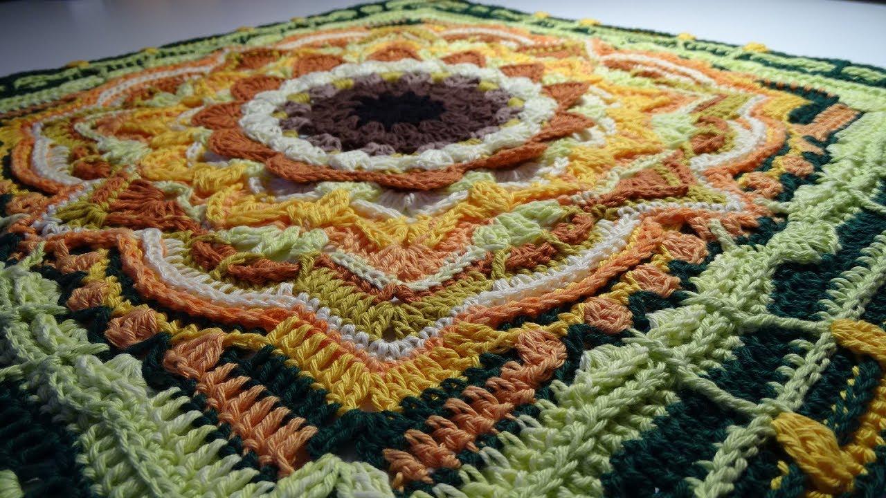 Crochet Blanket Eve S Sunflowers Part 1 Youtube Crochet For Beginners Blanket Blanket Knitting Patterns Chunky Knitting Patterns