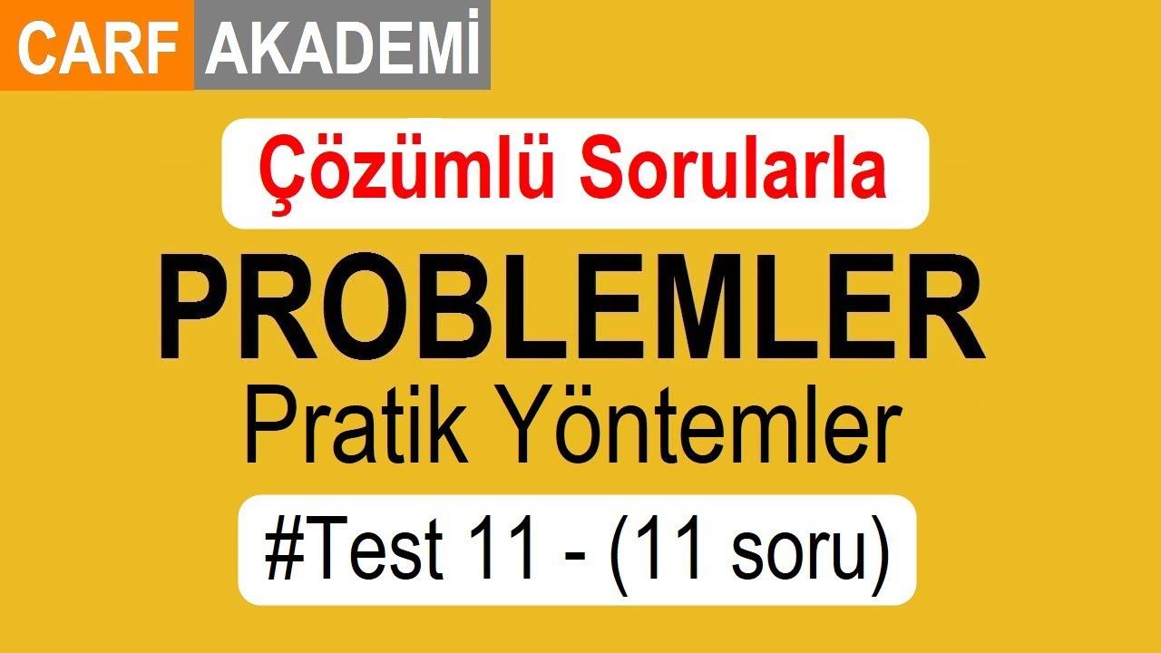 Problemler Pratik Yollar Ve Yöntemler çözümlü Test 11