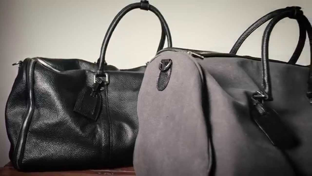 The New Weekender Garment Bag - YouTube