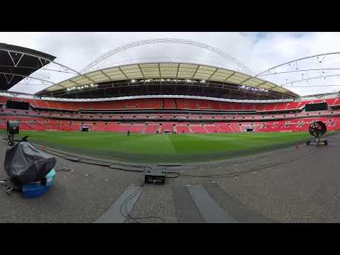 Experience Wembley Stadium like never before (360°/Virtual Reality)