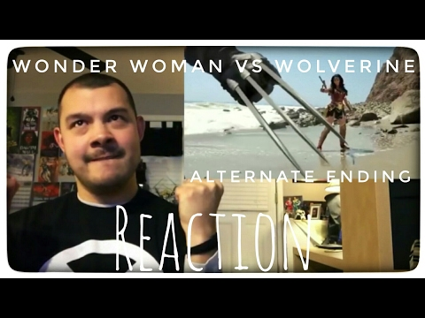 James YouNiverse - WONDER WOMEN VS WOLVERINE ALTERNATE ENDING [REACTION]