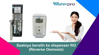 Dispenser air RO Reverse Osmosis type SHI dan Dispenser air Counter Top Flow