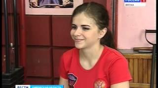 В нашей области появилась первая мастер спорта по тяжелой атлетике среди девушек(ГТРК Вятка)