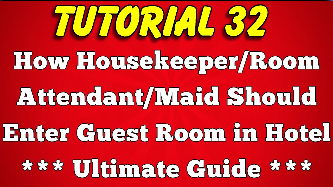 How to Enter Guest Room in Hotel