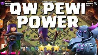 QUEEN WALK + PEKKA + WITCH = 3 STAR POWER!!! | Mister Clash