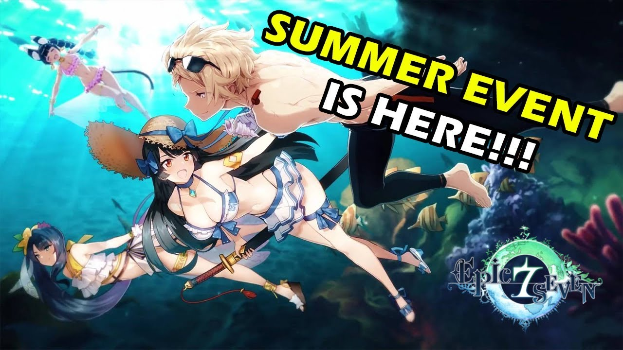 Epic Seven Summer Event Is Here! Karin Skin, Bellona Skin, & More!