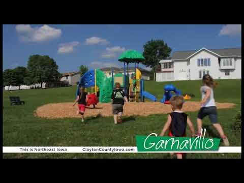 This is Garnavillo, Iowa!