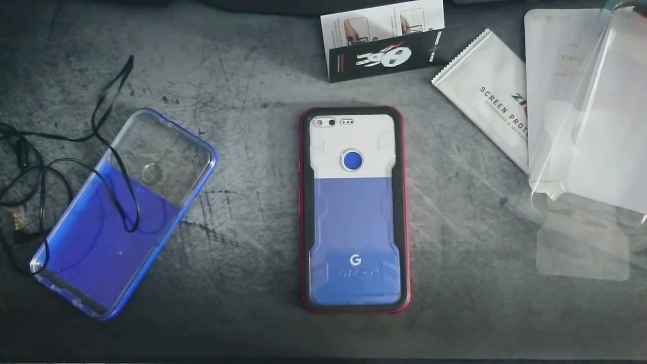 on sale 909ec 27ebb [UNBOXING] ZIZO Shock case for Google Pixel