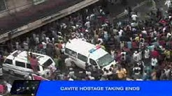 Cavite hostage-taking ends