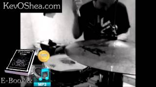 Kick Hat Snare 01 (flipped vid) | Advanced Drum Lessons