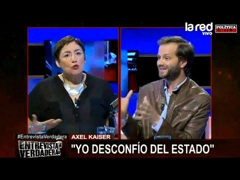 Axel Kaiser vs Beatriz Sánchez - ¿Qué es el Estado?