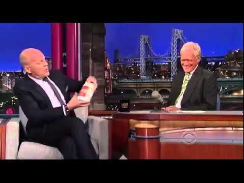 Bruce Willis - Interview Letterman 2013 07 15 HQ