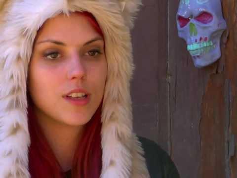 Actress Rachel Lara on KILLER HOLIDAY movie set