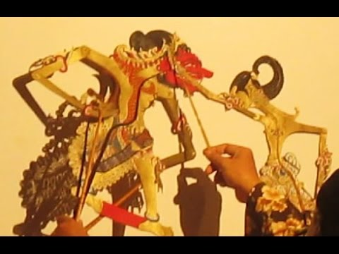 PERANG KEMBANG CAKILAN - Wayang Kulit Purwa - Javanese Shadow Puppet [HD]