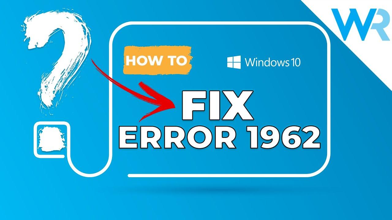 How to Fix Lenovo's Error 1962: No Operating System - YouTube