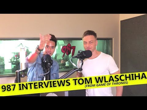 987  with Tom Wlaschiha​ from Game of Thrones