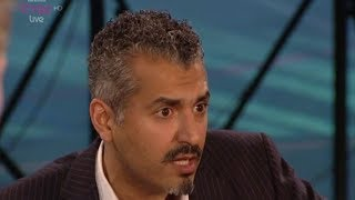 BBC3 'Free Speech' 'Can you be Gay and Muslim?' Maajid Nawaz vs Abdullah al Andalusi