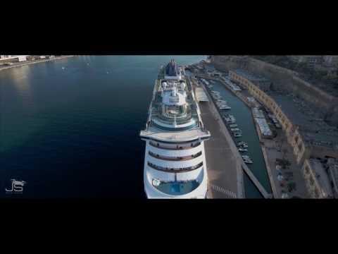 Valletta Cruise Terminal Malta 4k