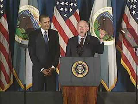 President Obama Address at the Department of the Interior