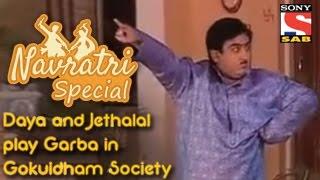 Daya and Jethalal play Garba in Gokuldham Society