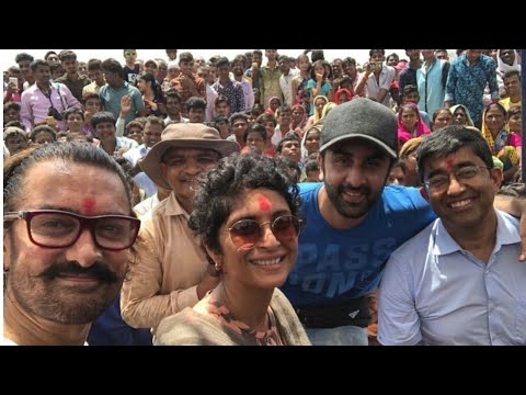Aamir khan & ranvir Kapoor in Nandurbar for Pani foundation