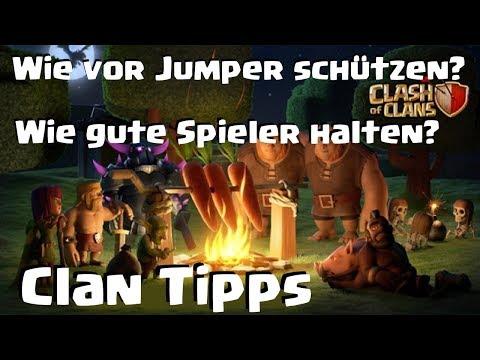 [481] Wie im Clan vor Jumper schützen? Wie gute Spieler halten? Clash of Clans Deutsch COC