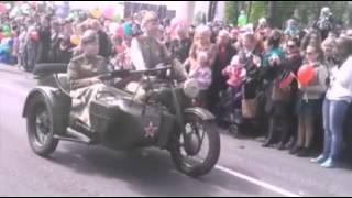 9 Мая!Военный парад в Гомеле 2015!День победы!
