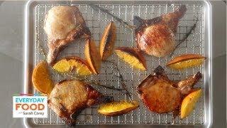 Orange-and-honey Glazed Pork Chops - Everyday Food With Sarah Carey