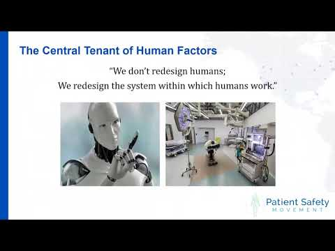Engineering The Future Of Healthcare Fundamentals Of Human Factors And Ergonomics Youtube