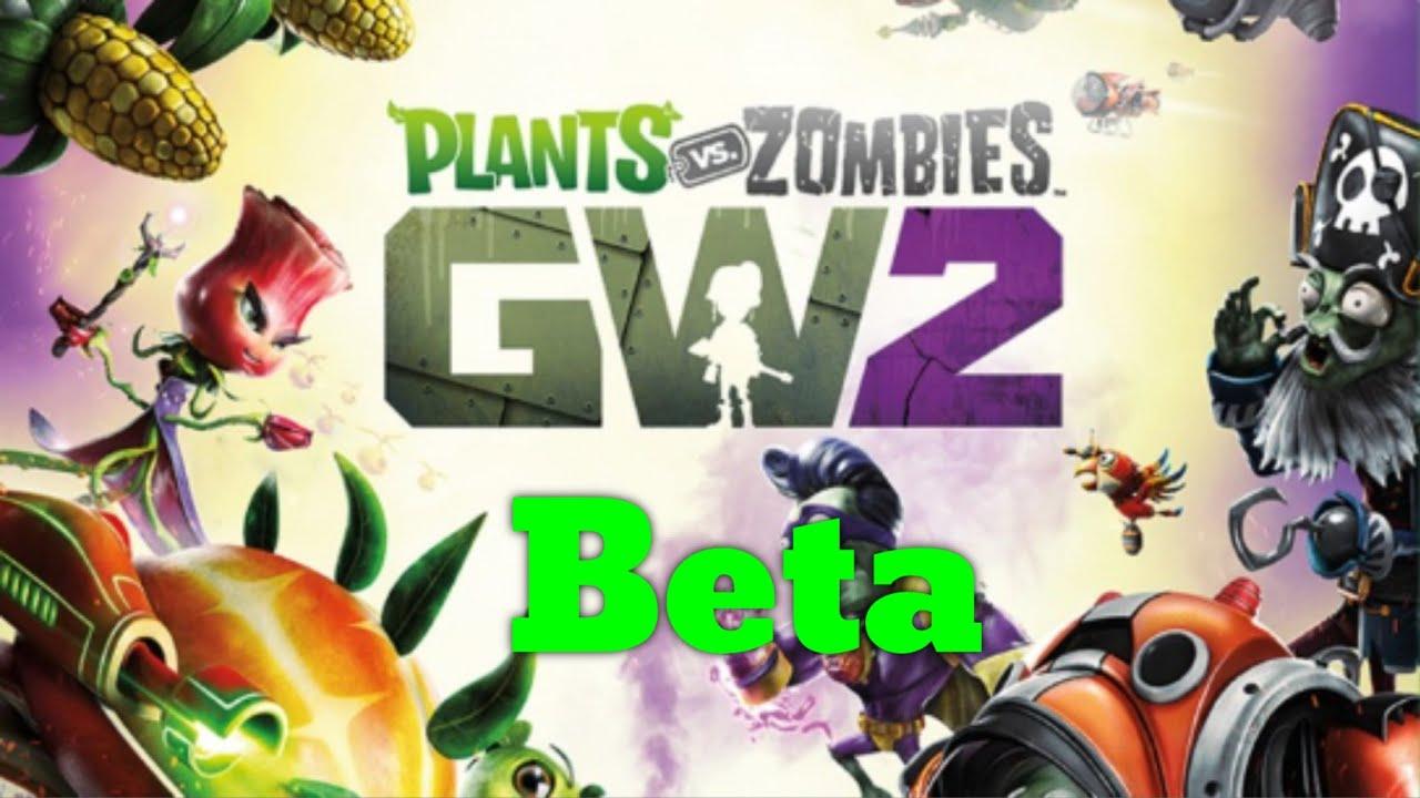 Plants Vs Zombies Garden Warfare 2 Walkthrough Gameplay Beta And A Sunflower Was Born