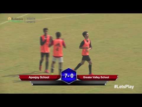 RFYS: Delhi Jr. Boys - Apeejay School vs Greater Valley School Highlights