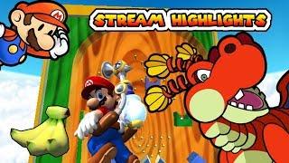 Dragon Bananas - Paper Mario: TTYD + Mario Sunshine Stream Highlights