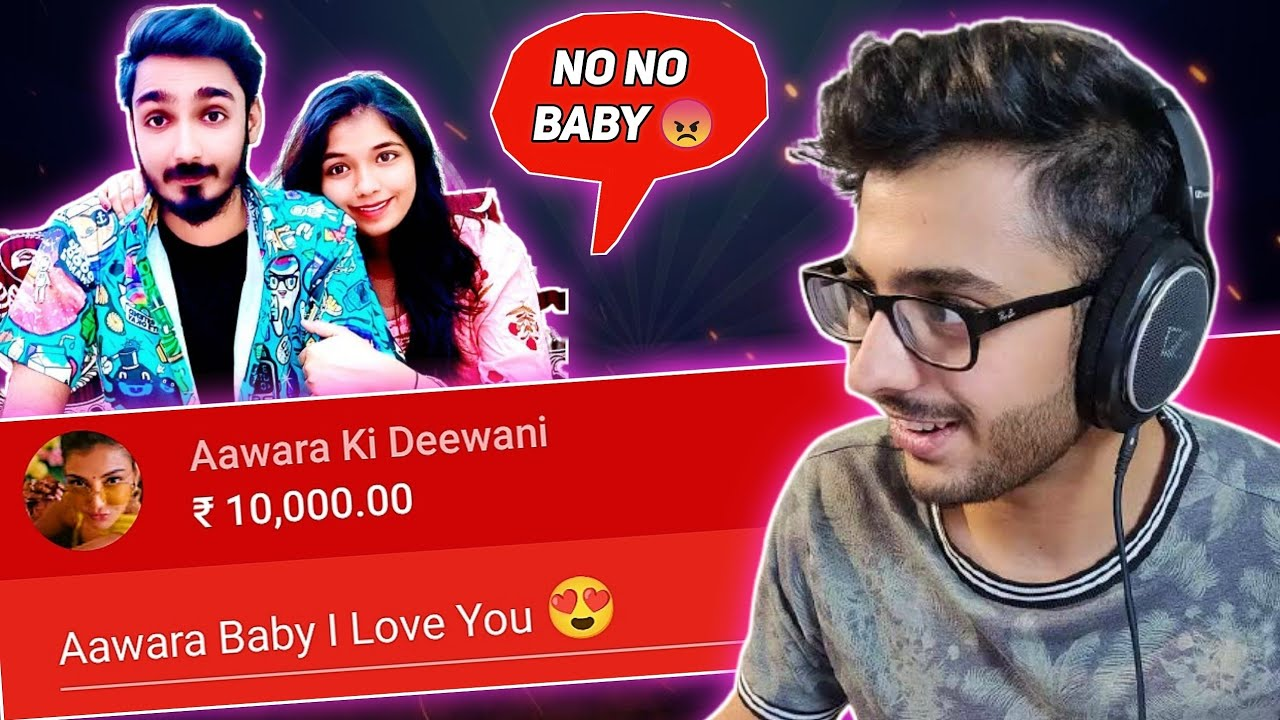 I Challenged Him To Propose Her On Live! ❤ | Aawara Bhai Ki Pitai | Beatbox ft.@CarryMinati