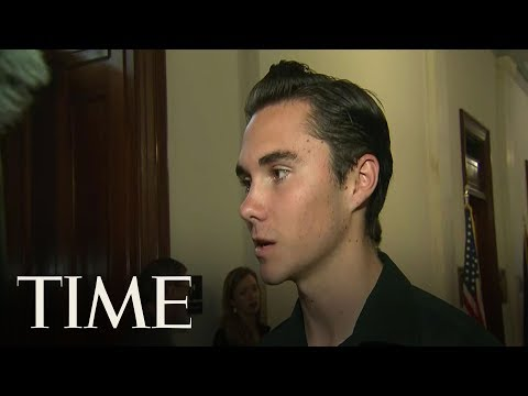 Parkland Survivor David Hogg Speaks Out After Family Home Was 'Swatted'   TIME