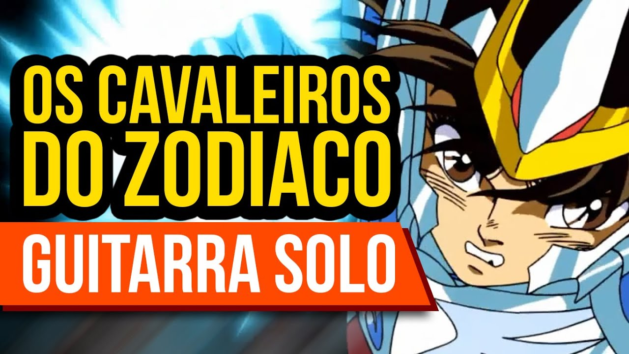 CAVALEIROS DO ZODÍACO - SOLDIER DREAM (GUITARRA SOLO)