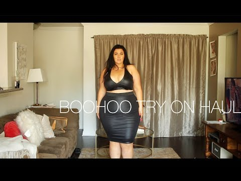 3c438f6d246a3 PLUS SIZE FASHION TRY ON HAUL   BooHoo Haul - LOTS of PLUS SIZE BODYSUITS -  YouTube