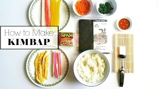 How To Make Quick & Tasty Kimbap