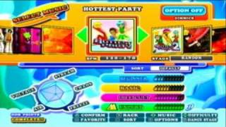 DDR Hottest Party 3 - Full Song List