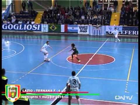 ONTV: Lazio-Ternana Futsal F. 4-3 Quarti finale playoff – Sintesi