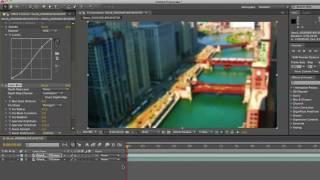 Videoda AE - Oluşturma Tilt-Shift Etkisi