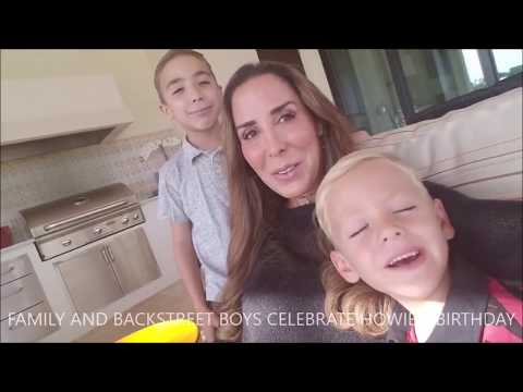 Backstreet Boys celebrate Howie's 44th Birthday (2017.8.22) Mp3